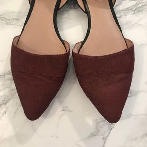 Madewell Shoes - Madewell The D'orsay Flat Calf Hair Shoes